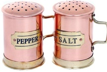 Salt 'N Pepper Shakers / Salt and Pepper Shakers and Cellars of All Kinds / by Lise Gillen