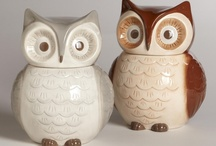 Cookie Jars Galore / Cookie Jars of all makes and vintages. / by Lise Gillen