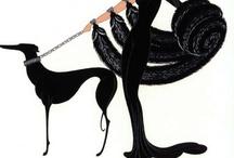 erté, art nouveau, art deco / by biobabbler