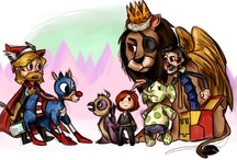 Avengers Funnies  / by Darcy Saleen
