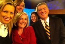 The People of Channel 13 News / Here are some fun candids of the Channel 13 News Team. / by WHO-HD 13