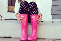 April Showers / Making the Iowa spring rain more fun with cute umbrellas, boots, and raincoats! / by WHO-HD 13
