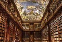 some beautiful libraries / by Lizzie Jones