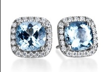 Something Blue....from Mark Patterson / by Mark Patterson Jewelry