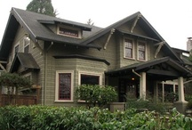 Craftsman style homes / Architecture / by Jean Baethge