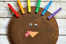 Fall Crafts & Decor / Autumn themed crafts, DIY, kid's crafts, and decorations. / by Mel Lockcuff - MamaBuzz