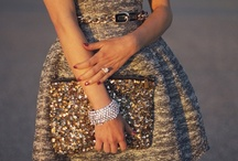 a little bit of glitter... / by Frederique T