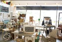 My shop...Coastal Charm Interiors / Located inside Antiques at the Loop/Mobile, AL. / by Coastal Charm