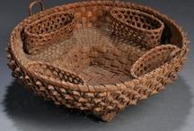 baskets / by Christine Crocker ~ Deerfield Farmhouse