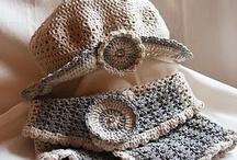 Crochet Head & Hand wear / by Beverley Hayashi