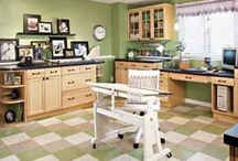 CRAFT ROOMS  MINE & OTHERS / by Beth Velosa