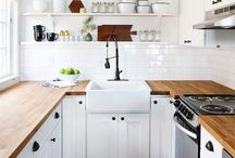 Home / I love home and interior design. My style is between minimalistic and woodsy rustic. I love colors, I love kitchens, and I love beds / by Deidre Elliott