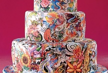 Creative Cakes...way to pretty to eat! / by Paula McCleery