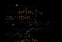 Words / by Ellen Harvey