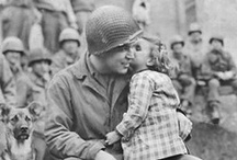 """The Greatest Generation / """"It (the men and women during WWII) is, I believe, the greatest generation any society has ever produced."""" ~Tom Brokaw      (please check out my other WWII boards, WWII Children/Animals, Tell Them We Remember (Holocaust), Vintage Couples & Kisses, etc.) NOTE: Nothing graphic. / by Samantha S."""