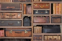 Vintage suitcases / by Feeby Breitbart
