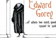 Edward Gorey / by Feeby Breitbart