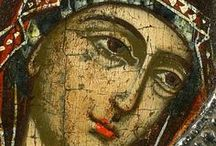 theotokos and the saints / Holy Virgin and Holy Saints / by Gabbie