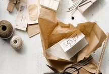 paper and packaging / by Kristin Kirkley
