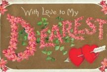 Be My Valentine... / by Curtain Lady Design