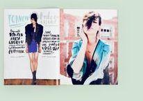 amazing fashion layout and design / by Sabrina Gareau