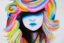 hair doos / by Amoreena Peralta