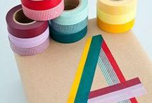 washi tape / by Augenpralinen Petra Wille