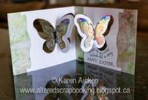 Pop it Ups Pivot Cards by Karen Burniston for ECD / Cards made using the Pop it Ups Pivot Cards by Karen Burniston for Elizabeth Craft Designs / by Elizabeth Craft Designs