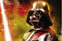 """Darth Vader / """"A young Jedi named Darth Vader, who was a pupil of mine until he turned to evil, helped the Empire hunt down and destroy the Jedi knights. He betrayed and murdered your father. Now the Jedi are all but extinct. Vader was seduced by the dark side of the Force."""" - Obi Wan Kenobi / by Hastings Entertainment"""