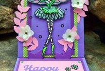 Stand-up cards / Cards created using the Stand Up Helper dies by Elizabeth Craft Designs.  / by Elizabeth Craft Designs