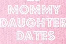 Parent-Child Dates / great ideas for 