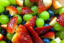 salads with fruit / by Tammy Hauser
