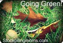 Earth Day and Green Living / Earth Day, Green Living / by Stockpiling Moms