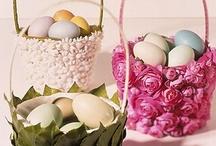Decorar cestas / decorate baskets / by Clara Belen