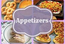 Appetizer Recipes / Delicious Appetizer Recipes that are perfect for any crowd. #Football #Tailgaiting #Parties #Recipes #Appetizer / by Stockpiling Moms