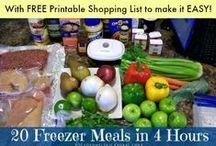 Freezer Cooking Recipes / Freezer Cooking, Bulk Cooking Recipes, Once  Month Cooking Recipes #freezercooking #recipes  / by Stockpiling Moms