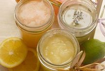 Recipes - Homemade *  body scrubs,soaps, candles etc........ / by Anne Bailey