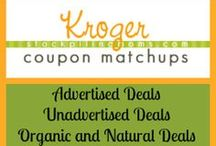 Kroger Grocery Store / We love to shop at Kroger Grocery Store #CouponMatchups #DIY #Recipes #Deals and all things #Kroger / by Stockpiling Moms