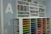 New Craft Room / by Nena Huckaby