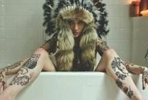 Tattoo / art on skin.. / by Gabe Molnar