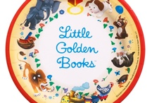 Little (And Some Big) Golden Books #2 / For more Golden Books, you may want to check out Little Golden Books #1, #3, & #4 Boards. / by Nicole Souders