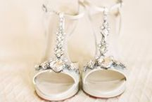Bridal Shoes / Bridal shoes for a wedding. Beautiful heels, pumps, and sandals for wedding day feet! Some pins are from affiliate partners. / by Dress for the Wedding