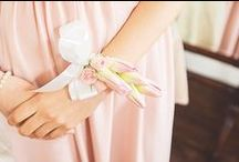 Blush Wedding Ideas / Blush wedding ideas and inspiration. Pretty pale pink flowers and dresses. / by Dress for the Wedding