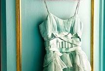 Mint Wedding Ideas / Mint dresses, accessories, cakes and favors for a mint color scheme or mint themed wedding. / by Dress for the Wedding