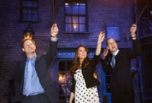 From Cambridge to Hogwarts! / The Duke and Duchess of Cambridge visited the Making of 'Harry Potter' exhibit at the Inauguration Of Warner Bros. Studios Leavesden in Hertfordshire, England. / by Entertainment Tonight