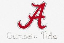 ALABAMA CRIMSON TIDE  / A place for the University of Alabama students, faculty, alumni, and fans to connect. Roll Tide Roll!! / by Meesh & Mia