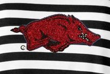 ARKANSAS RAZORBACKS  / A place for the University of Arkansas students, faculty, alumni, and fans to connect. Go Hogs!! / by Meesh & Mia