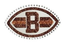 CLEVELAND BROWNS - NFL COLLECTION / Meesh & Mia has created the perfect balance of Browns pride and chic fashion apparel, to celebrate feminine football fans across the country! Whether throwing a party at home, or sitting in the stands, you'll surely look your best without sacrificing team spirit! / by Meesh & Mia
