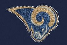 ST. LOUIS RAMS - NFL COLLECTION  / Meesh & Mia has created the perfect balance of Rams pride and chic fashion apparel, to celebrate feminine football fans across the country! Whether throwing a party at home, or sitting in the stands, you'll surely look your best without sacrificing team spirit! / by Meesh & Mia