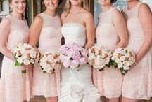 Pink Bridesmaid Dresses / Long and short pink bridesmaid dresses to help you find the perfect dress for your bridal party. / by Dress for the Wedding